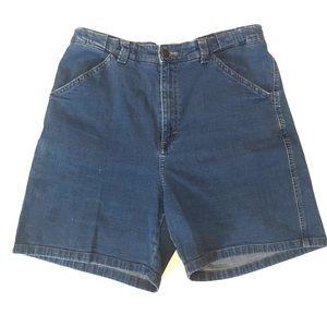 LEE At The Waist High Waisted Denim Jean Shorts